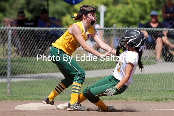 Olivehurst vs. Paradise softball majors (7/7/2018)