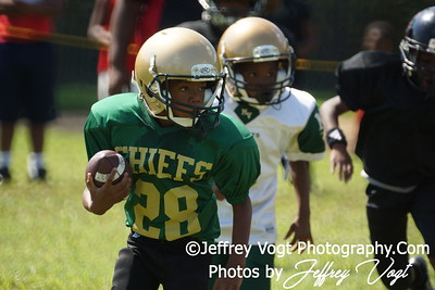 08-18-2012 Montgomery Village Sports Association Mighty Mites vs PG Storm