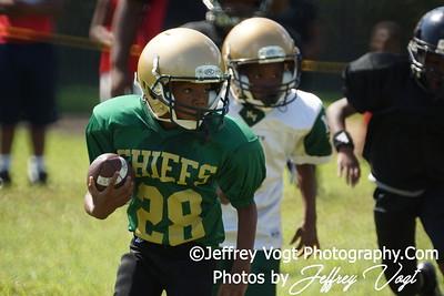 08-18-2012 Montgomery Village Sports Association Mighty Mites vs PG Storm