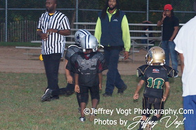 10-04-2012 Montgomery Village Sports Association Tiny Mites vs MCSA Cowboys