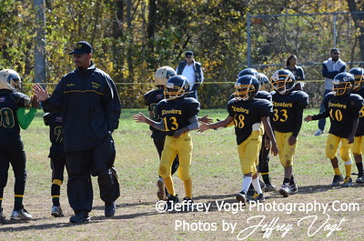 10-20-2012 Montgomery Village Sports Association  Ankle Biters vs KML Steelers
