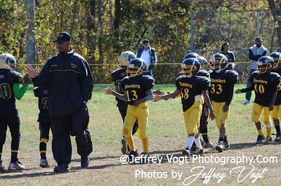 10-20-2012 Montgomery Village Sports Association  Ankle Biters vs KML Steelers