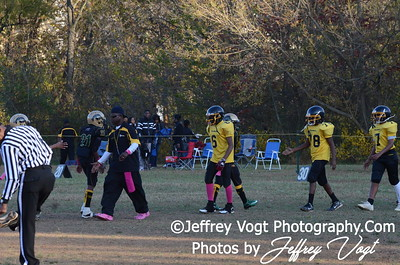 10-20-2012 Montgomery Village Sports Association Juniors vs KML Steelers