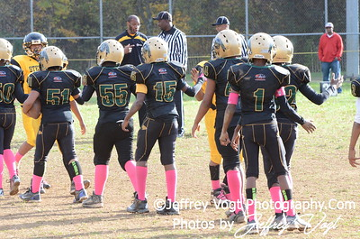 10-20-2012 Montgomery Village Sports Association Midgets vs KML Steelers