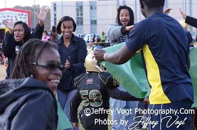 10-20-2012 Montgomery Village Sports Association Mighty Mites vs KML Steelers