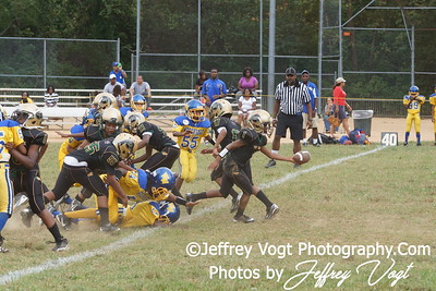 09-08-2012 Montgomery Village Sports Association Ponys vs Woodbridge Warriors