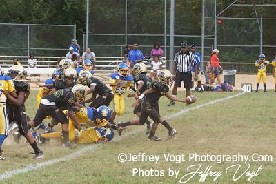 09-08-2012 Montgomery Village Sports Association Ponys vs Woodbridge Warriors