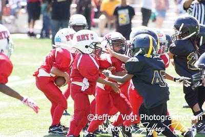 09-15-2012 Lamond Riggs Steelers vs Ridge Road Titans Tiny Mites Photos by Jeffrey Vogt
