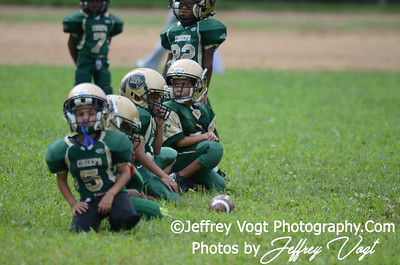 08-10-2013 Montgomery Village Sports Association Chiefs Super Tiny Mites vs Spirit of Faith Warriors