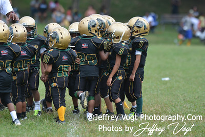 08-31-2013 Peppermill Pirates vs Montgomery Village Sports Association Chiefs Super Tiny Mights