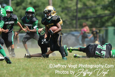 08-31-2013 Peppermill Pirates vs Montgomery Village Sports Association Chiefs Cadets