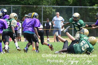 08-10-2013 Montgomery Village Sports Association Chiefs Cadets vs Spirit of Faith Warriors