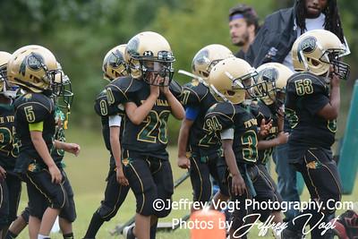 09-21-2013 Montgomery Village Sports Association Chiefs vs Ridge Road Youth Coalition Super Tiny Mites