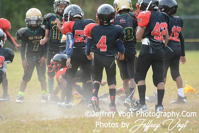 09-21-2013 Montgomery Village Sports Association Chiefs vs Ridge Road Youth Coalition Mighty Mites