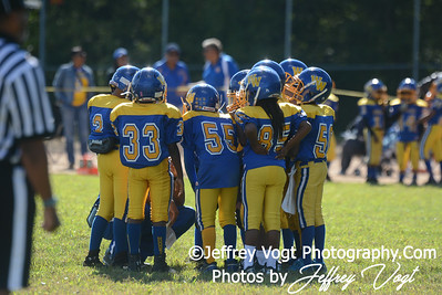 09-14-2013 MVSA Chiefs vs Woodridge Warriors Mighty Mites