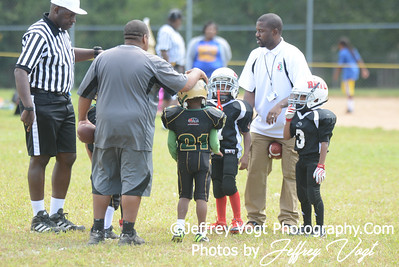 09-14-2013 MVSA Chiefs vs Ridge Road Titans Super Tiny Mites