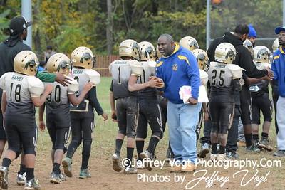 10-11-2014 Montgomery Village Sports Association Chiefs vs Woodridge Warriors  JR Pee Wee Photos by Jeffrey Vogt, MoCoDaily