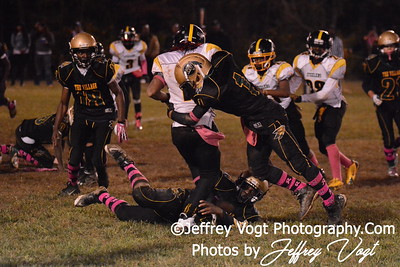 10-11-2014 Montgomery Village Sports Association Chiefs vs Lamond Riggs Steelers JR Midgets Photos by Jeffrey Vogt, MoCoDaily