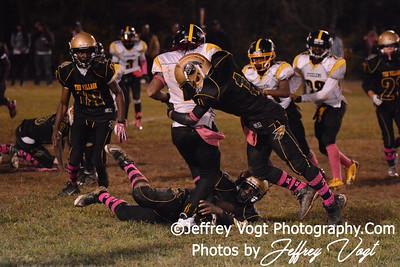 10-11-2014 Montgomery Village Sports Association Chiefs vs Lamond Riggs Steelers JR Midgets Photos by Jeffrey Vogt, MoCoDaily