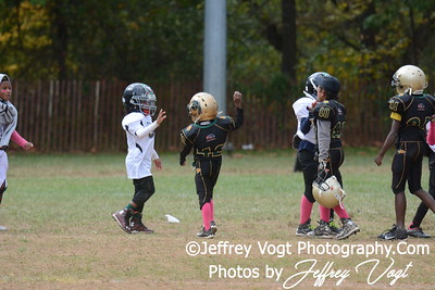10-17-2015 Montgomery Village Sports Association Chiefs Tiny Mites vs Ridge Road Titans, Photos by Jeffrey Vogt, MoCoDaily