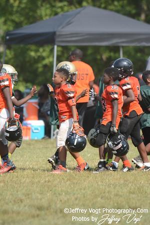 08-16-2015 Montgomery Village Sports Association Chiefs vs Watkins Hornets Cadet, Photos by Jeffrey Vogt, MoCoDaily