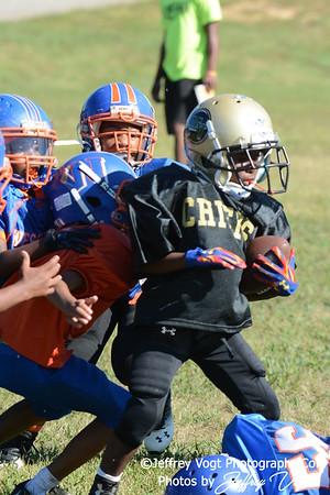 08-22-2015 Montgomery Village Sports Association Chiefs Mighty Mites Green vs Westlake Bulldogs, Photos by Jeffrey Vogt, MoCoDaily
