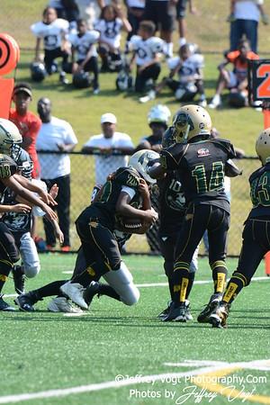 08-29-2015 Montgomery Village Sports Association Chiefs vs White Oak Warriors Tiny Mites, Photos by Jeffrey Vogt, MoCoDaily