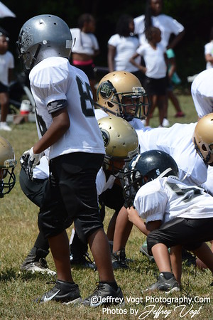 08-15-2015 Montgomery Village Sports Association Chiefs Mighty Mites vs Montgomery Knights, Photos by Jeffrey Vogt, MoCoDaily