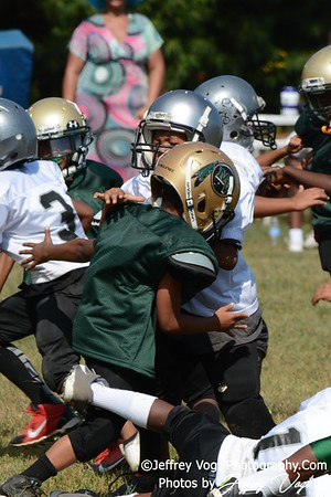 08-15-2015 Montgomery Village Sports Association Chiefs Tiny Mites vs Montgomery Knights, Photos by Jeffrey Vogt, MoCoDaily