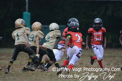 09-12-2015 Montgomery Village Sports Association Chiefs Mighty Mite Black vs Ridge Road Titans, Photos by Jeffrey Vogt, MoCoDaily