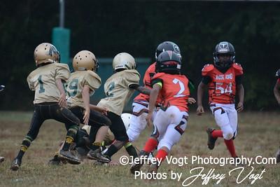 09-12-2015 Montgomery Village Sports Association Chiefs Mighty Mite Black vs Ridge Road Titans, Photos by Jeffrey Vogt, MoCoDaily