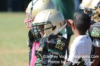 10-11-2015 Montgomery Village Sports Association Chiefs Mighty Mites Green vs Woodridge Warriors, Photos by Jeffrey Vogt, MoCoDaily