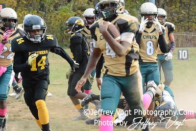 10-24-2015 Montgomery Village Sports Association Chiefs 14U vs Parkside Panthers