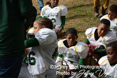 10-17-2015 Montgomery Village Sports Association Chiefs Mighty Mites Green vs Ridge Road Titans, Photos by Jeffrey Vogt, MoCoDaily