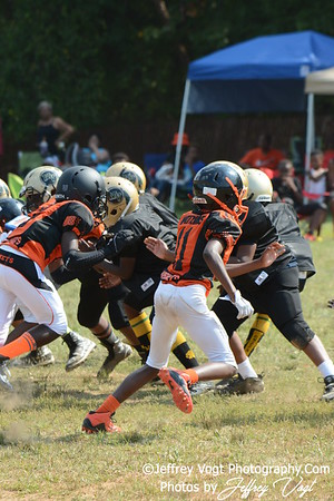 08-16-2015 Montgomery Village Sports Association Chiefs vs Watkins Hornets JR PEE WEE, Photos by Jeffrey Vogt, MoCoDaily
