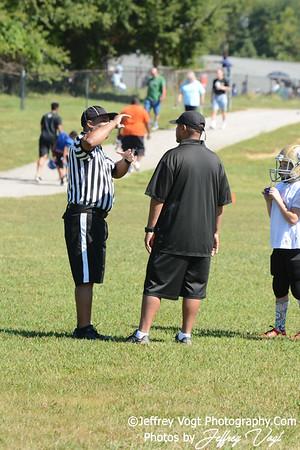 08-22-2015 Montgomery Village Sports Association Chiefs Mighty Mites Gold vs Westlake Bulldogs, Photos by Jeffrey Vogt, MoCoDaily