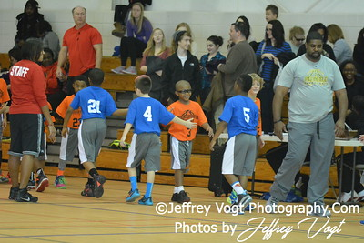 1-16-2016 Germantown Sports Association Rec Basketball 3rd Grade Hall Team, Photos by Jeffrey Vogt, MoCoDaily