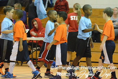 1-09-2016 Germantown Sports Association Rec Basketball 3rd Grade Sullivan Team, Photos by Jeffrey Vogt, MoCoDaily
