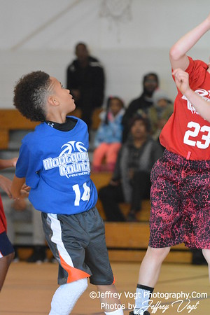 1-30-2016 Germantown Sports Association Rec Basketball 3rd Grade St Clair Team, Photos by Jeffrey Vogt, MoCoDaily