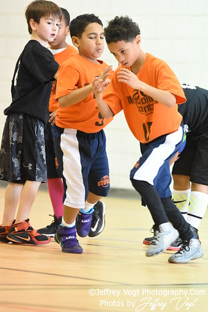 2-20-2016 Germantown Sports Association Rec Basketball 3rd Grade Sullivan Team, Photos by Jeffrey Vogt, MoCoDaily