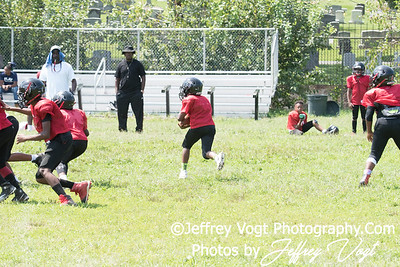 08-19-2017 North Potomac Braves Jr Pee Wee vs Beacon House Scrimmage at Edgewood Rec Center, Photos by Jeffrey Vogt, MoCoDaily