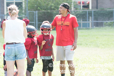 08-19-2017 North Potomac Braves Mighty Mites vs Beacon House Scrimmage at Edgewood Rec Center, Photos by Jeffrey Vogt, MoCoDaily