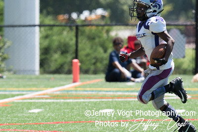 08-05-2017 North Potomac Braves Jr Pee Wee vs Pikesville Wildcats Scrimmage at St Johns College High School, Photos by Jeffrey Vogt MoCoDaily