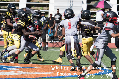 09-23-2017 North Potomac Braves Jr Pee Wee vs Alexandria Tigers at Theodore Roosevelt HS, Photos by Jeffrey Vogt, MoCoDaily