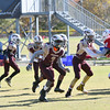 RFL Seminoles vs Patriots Intermediate Youth Football Game, at Mattie Stepanek Park, Rockville Maryland 11/02/2019