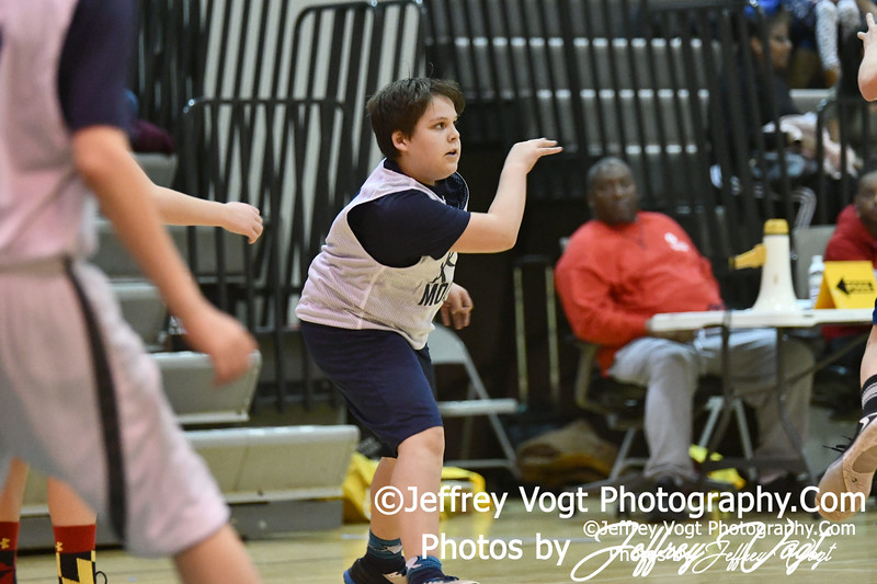 Montgomery County Maryland Recreation Basketball 7th Grade, Sesame Street vs Bulldogs at Kingsview Middle School Germantown Maryland 1/11/2020