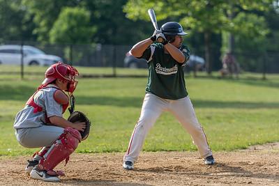 Ben Cortes batting