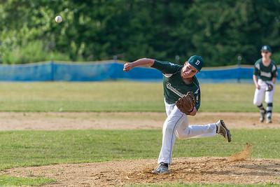 Ryan Martins pitching