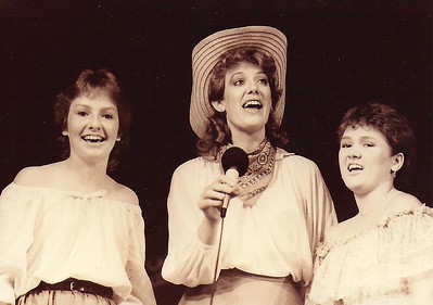 Leah Houghton, Wendy Bingham-Helling, Darcy Culley 1984