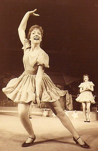 Star Roberts (front) Bonnie Chambers 1984